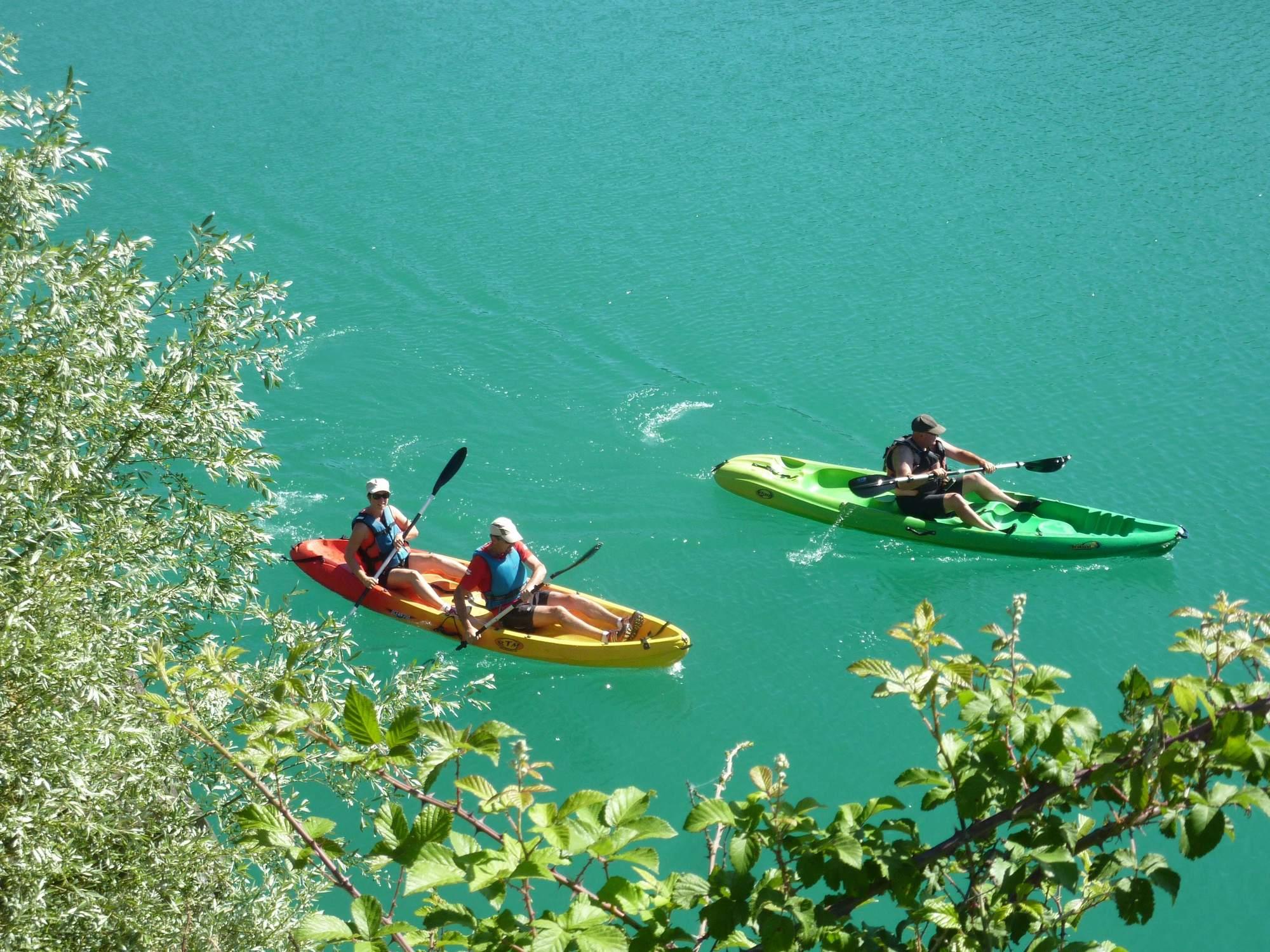 photos Découverte de la Grande Bleue en Canoë