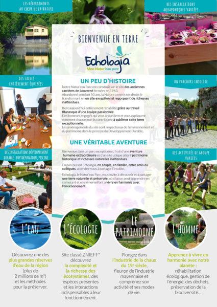 Aquaponie Brochure Volet 3 - Le monde Echologia l'eau l'ecologie le patrimoine l'homme