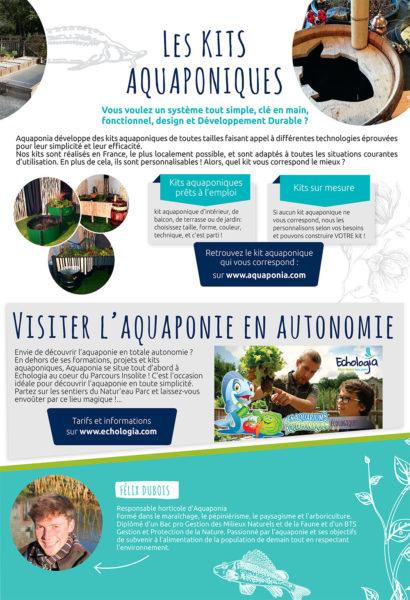 Aquaponie Brochure Volet 7 - Les kits Aquaponiques - Visites
