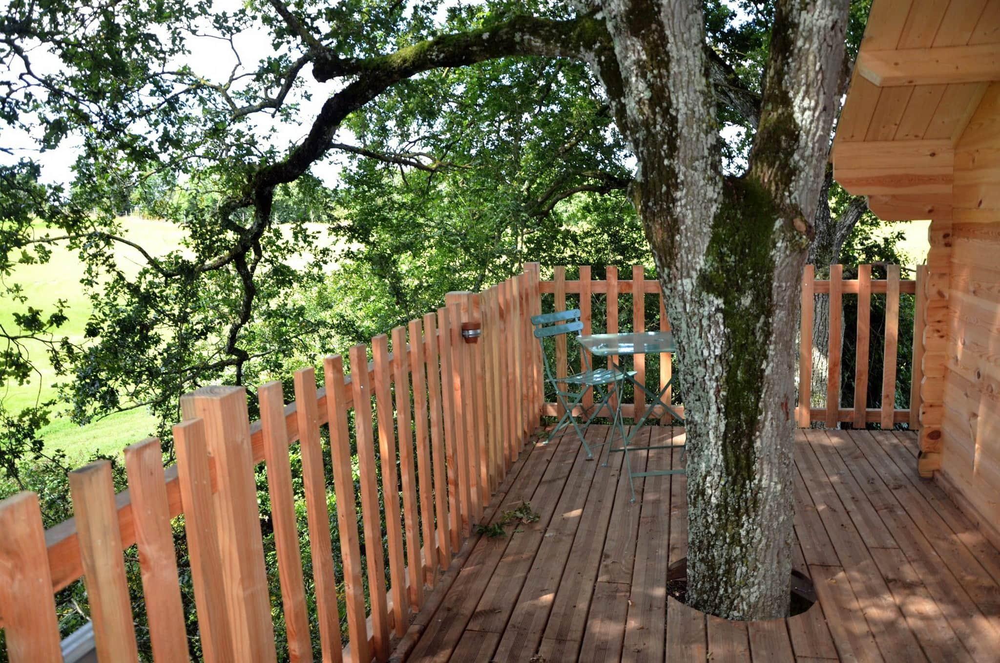 photos Waldhütte Chêne und Acacia